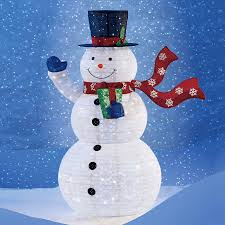 light up snowman outdoor decoration outdoor designs