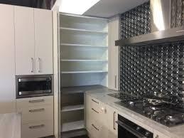 corner kitchen cabinet nz kitchen corner solutions bring the benchtop into the