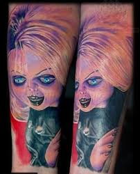 48 best bride of chucky tattoos images on pinterest chucky