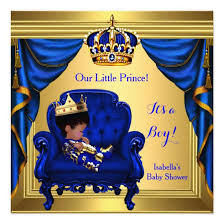 royal blue and gold baby shower ethnic boy baby shower prince royal blue gold invitations baby