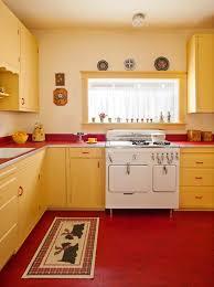 Retro Kitchen Designs by Great 1940 U0027s Retro Kitchen Redesign Kitchen Accents Include