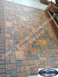 Concrete Patio Blocks 18x18 by Cambridge Ledgestone With 18x18 Intermingled Ledgestone C U2026 Flickr