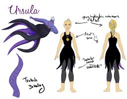 ursula costume running costume ursula by fuzzybearears on deviantart