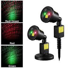 amazon com starry sky outdoor laser lights 7w red u0026 green 2 in