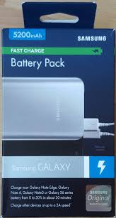 charge your phone samsung fast charge 5200mah battery pack review feedingmobile