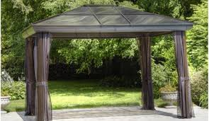 Outdoor Gazebo Curtains Small Tent For Patio Home Outdoor Decoration