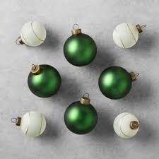 green ornaments tree decorations target
