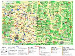 Map Of Bali Map Of Ubud And 33 Recommendations Illustrated By Sophie Kukukita
