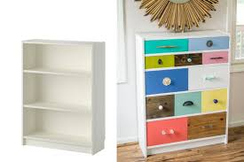 furniture home ikea hack billy bookcase drawer via smallspaces