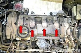 volkswagen golf gti mk v spark plug and coil replacement 2006