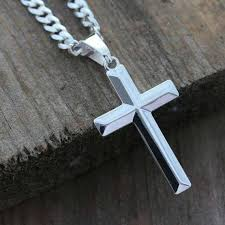 mens cross necklace pendant images Mens cross necklace sterling silver cross necklace elegant jpg