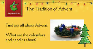 advent the traditional time leading up to