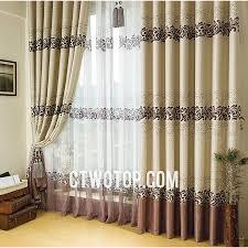 Custom Blackout Drapes Best Custom Beige Brown Bedroom Blackout Window Curtains