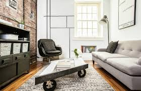industrial living interior design upper east side nyc salas