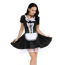 Halloween Costumes Lingerie Women Halloween Costume Cosplay French Maid Lingerie Fancy