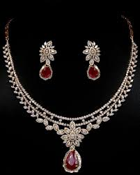 diamond necklace sets images 25 simple and beautiful diamond necklace designs jpg