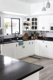 white kitchen cabinets with black countertops 70 best black countertops white cabinets ideas black