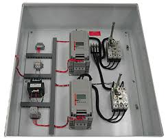 sprecher schuh duplex pump custom control panel