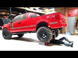 rc adventures modifying my ford f150 fx4 4x4 rear bumper mount
