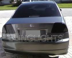 2001 honda civic tail lights 2005 honda civic sedan taillight tint taillamp tail light lights