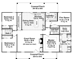 home plan one level colonial living startribune com
