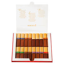 merci chocolates where to buy merci finest chocolate selection 250g from ocado