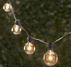 Outdoor Hanging String Lights 10 Easy Pieces Cafe Style Outdoor String Lights Gardenista