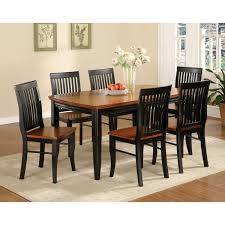 Set Of Two Dining Chairs Furniture Of America Nora Two Tone Solid Wood Slat Back Dining