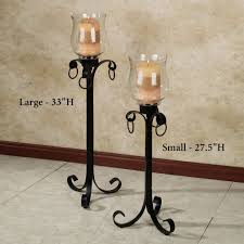 Fireplace Candle Holders by Interior Design 7 Piece Glass Hurricane Candle Holder