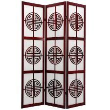 chinese room divider oriental furniture long life 72 inch room divider walmart com