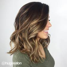 dark brown hair with blond highlights trubridal wedding blog 90 balayage hair color ideas with blonde