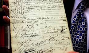 catholic marriage certificate napoleon s catholic marriage certificate goes up for auction the