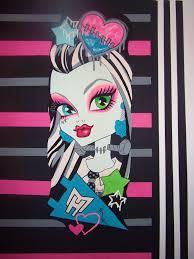 monster high bedroom decorating ideas monster high doll wallpaper art sricker mural handmade roo u2026 flickr