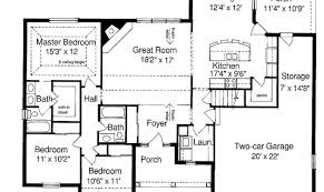 ranch style house floor plans ranch style house floor plans home plan design blueprints