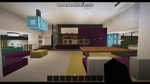 Modern House Furniture Minecraft Minecraft Modern House 15 Domek Na Modach Youtube