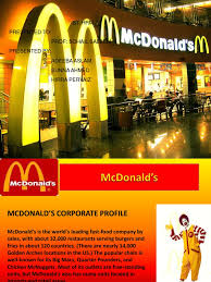 mcdonald u0027s strategic human resource management mc donald u0027s