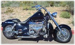 motorcycle with corvette engine hoss bhc 3 ls2