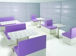 divanetto bar divanetto imbottito per bistrot modulare moderno in legno