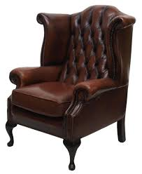 Wing Back Chair Design Ideas Leathers Wingback Chair Browns Leather Wingback Chair Are For