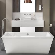 Freestanding Bathtub Canada Soaking Tubs Seagram Freestanding Soaker Tub With Deck From Dxv