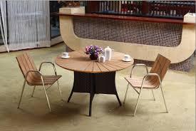 modern style patio furniture dining set with metal furniture metal