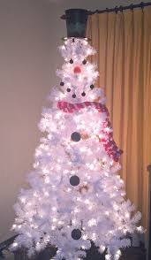 snowman christmas tree how to make a snowman christmas tree just plum