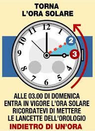 %name Torna lora solare tra il 29 e 30 ottobre
