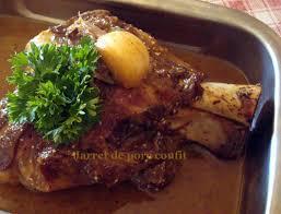 cuisine jarret de porc jarret de porc confit je cuisine simplement