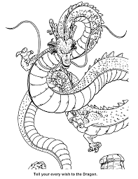dragon ball coloring page free download