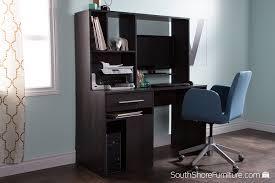 Computer Desk by Amazon Com South Shore Annexe Home Office Computer Desk Gray Oak