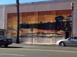 graffiti mural of the oceanside pier art in san diego county graffiti mural of the oceanside pier graffiti muralssan diegostreet art