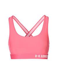 light purple sports bra under armour armour cross back padded bra sports bras and