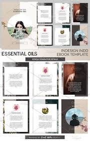 essential oils indd ebook template presentation templates
