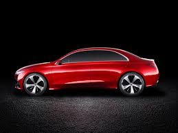 gmc sedan concept mercedes previews next generation compact models with new concept